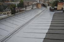 Гидроизоляция, ремонт металлических крыш