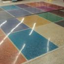 Полированные бетонные полы
