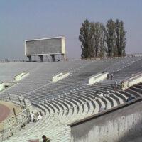 Гидроизоляция, ремонт трибун стадиона